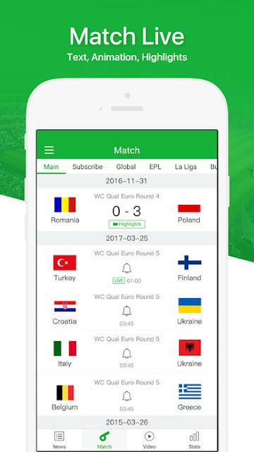 Soccer Scores Pro 98.0 APK Full