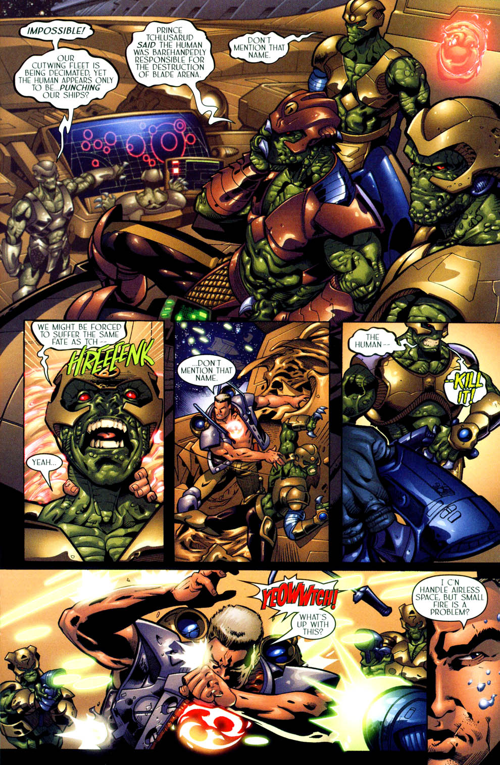 Read online Sigil (2000) comic -  Issue #11 - 10