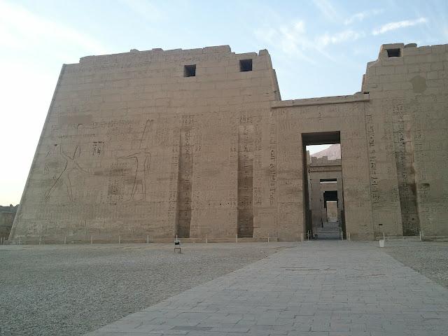 Templo de Habu, Luxor. Egipto.