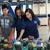 Colégio CCI em Samambaia: Promove experimento com alunos produzindo mini-terrários