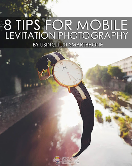 8 Tips For Mobile Levitation Photography By Just Using Smartphone (Both Android or iPhone)