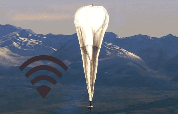 balões da Internet