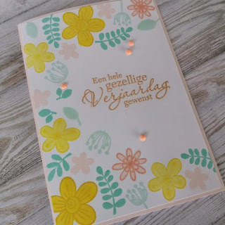Folia & Floralia stamp set from Karin Joan