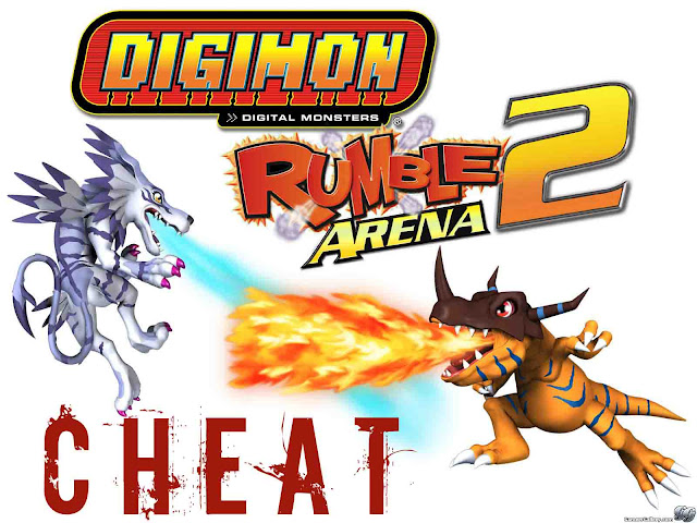 Cheat Digimon Rumble Arena 2 PS2