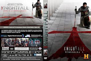 CARATULA Knightfall (TV Series) [TEMPORADA 1] DVD COVER