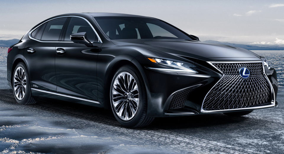 Technical details revealed for Lexus LS 500h