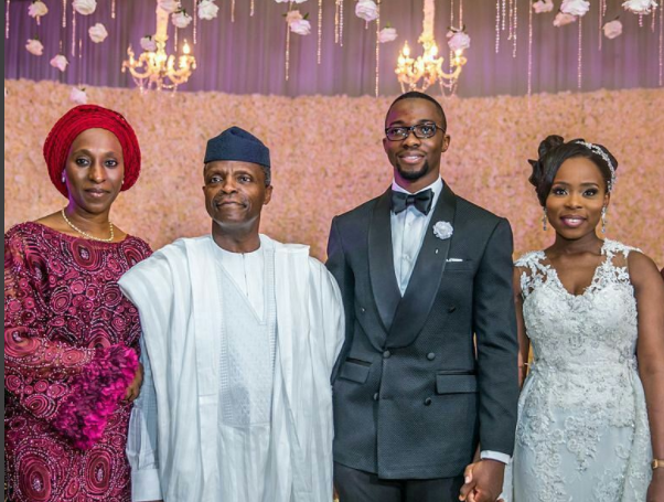 Dipo Abiri and Ayomide Amosun wedding