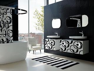 صور ديكورات حمامات مودرن 2017  شركة ارابيسك