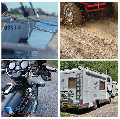 rv insurance, boat insurance, michigan insurance, motorcycle insurance