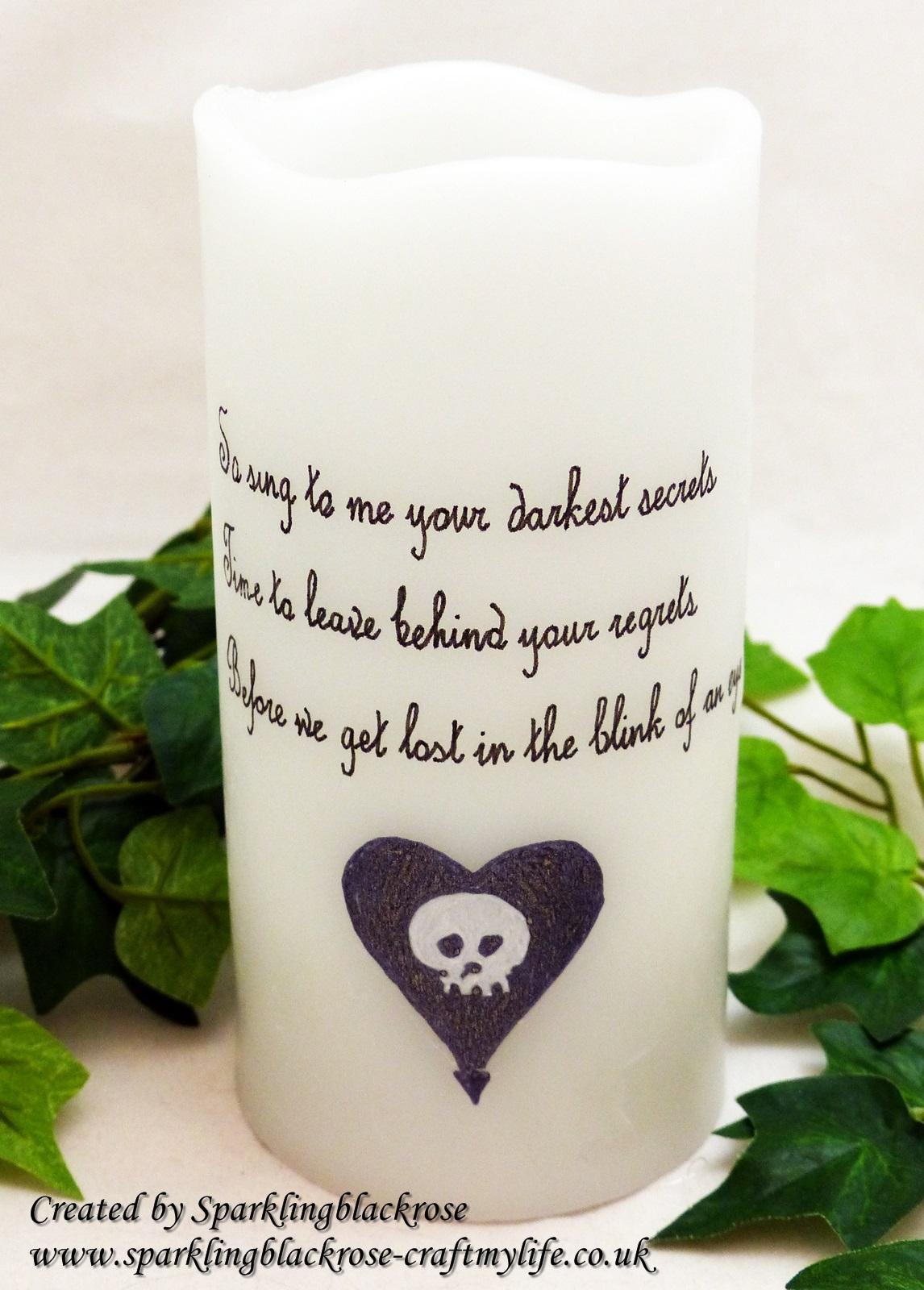 Alkaline Trio Lyrics Colour change LED candles