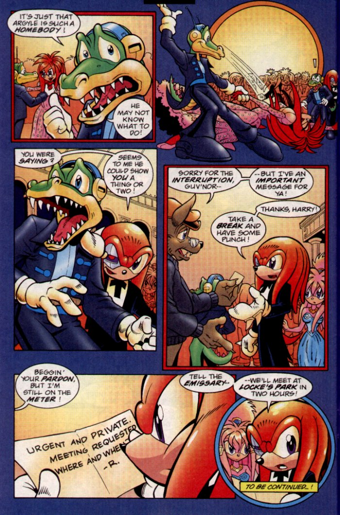 Read online Sonic The Hedgehog comic -  Issue #132 - 24