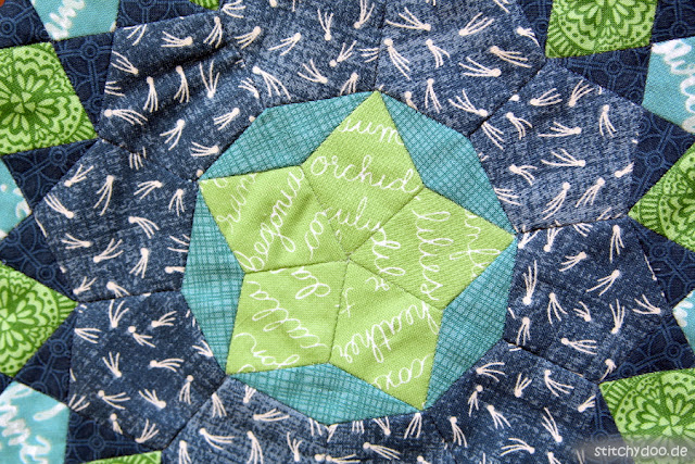 stitchydoo: La Passacaglia English Paper Piecing
