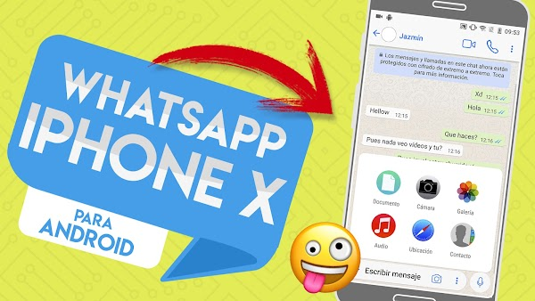 Instalar Whatsapp Estilo IOS 11/ iPhone X en Cualquier Android / FEB 2018