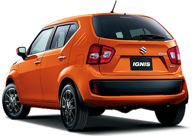 New 2016 Maruti Suzuki Ignis rear view