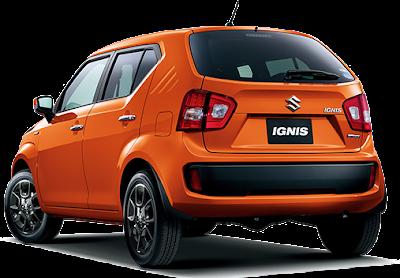 New 2016 Maruti Suzuki Ignis rear view
