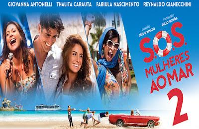 Cartaz do filme SOS Mulheres ao Mar 2
