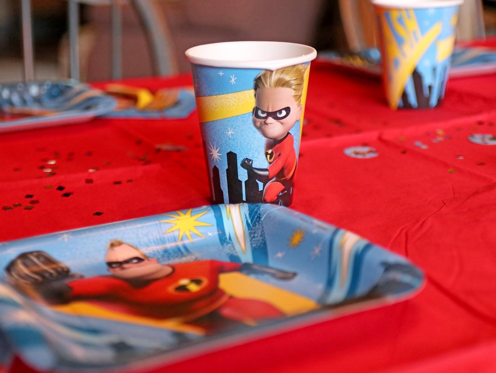 disney pixar the incredibles 2 birthday party