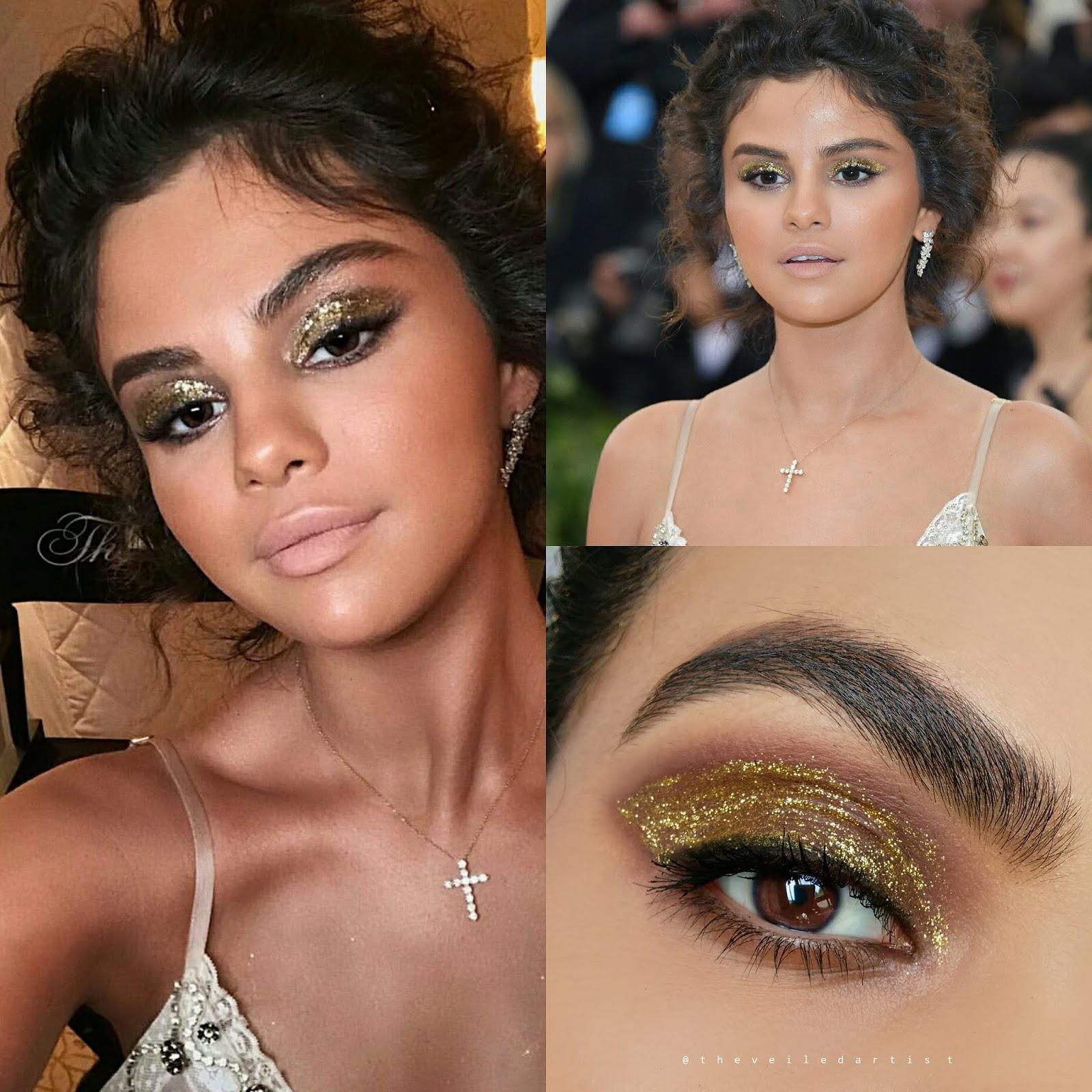 Recreating Selena Gomezs Met Gala 2018 Eyeshadow Look Tutorial