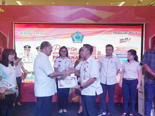 Edison Humiang Tutup Pameran Kompetisi Inovasi Pelayanan Publik Sulut