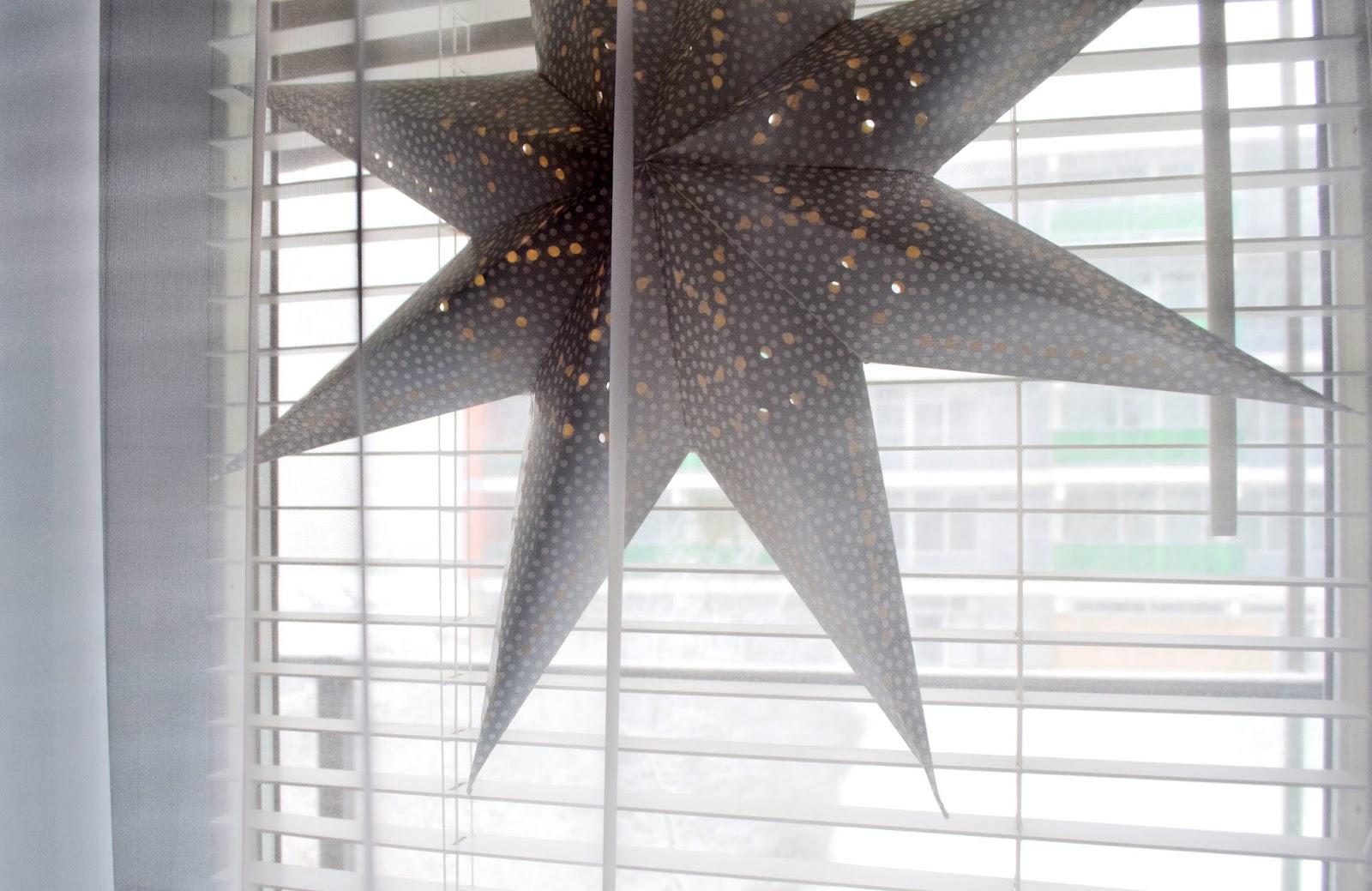 Betlejemska gwiazda z papieru