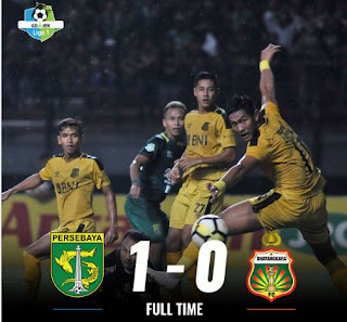 Persebaya Surabaya vs Bhayangkara FC 1-0 Highlights
