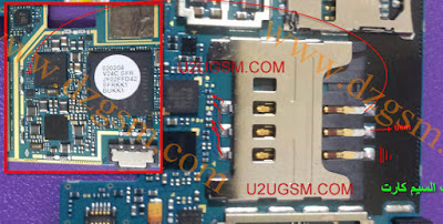 This is Samsung Galaxy Note N7000 insert sim Problem Jumper solution     Clean this motherboard first. if is not ok check this line use your avo meter. follow this image you can solve your problem easily. Samsung Galaxy note sim not veiled problem solution. insert sim samsung galaxy note n7000 solution.
