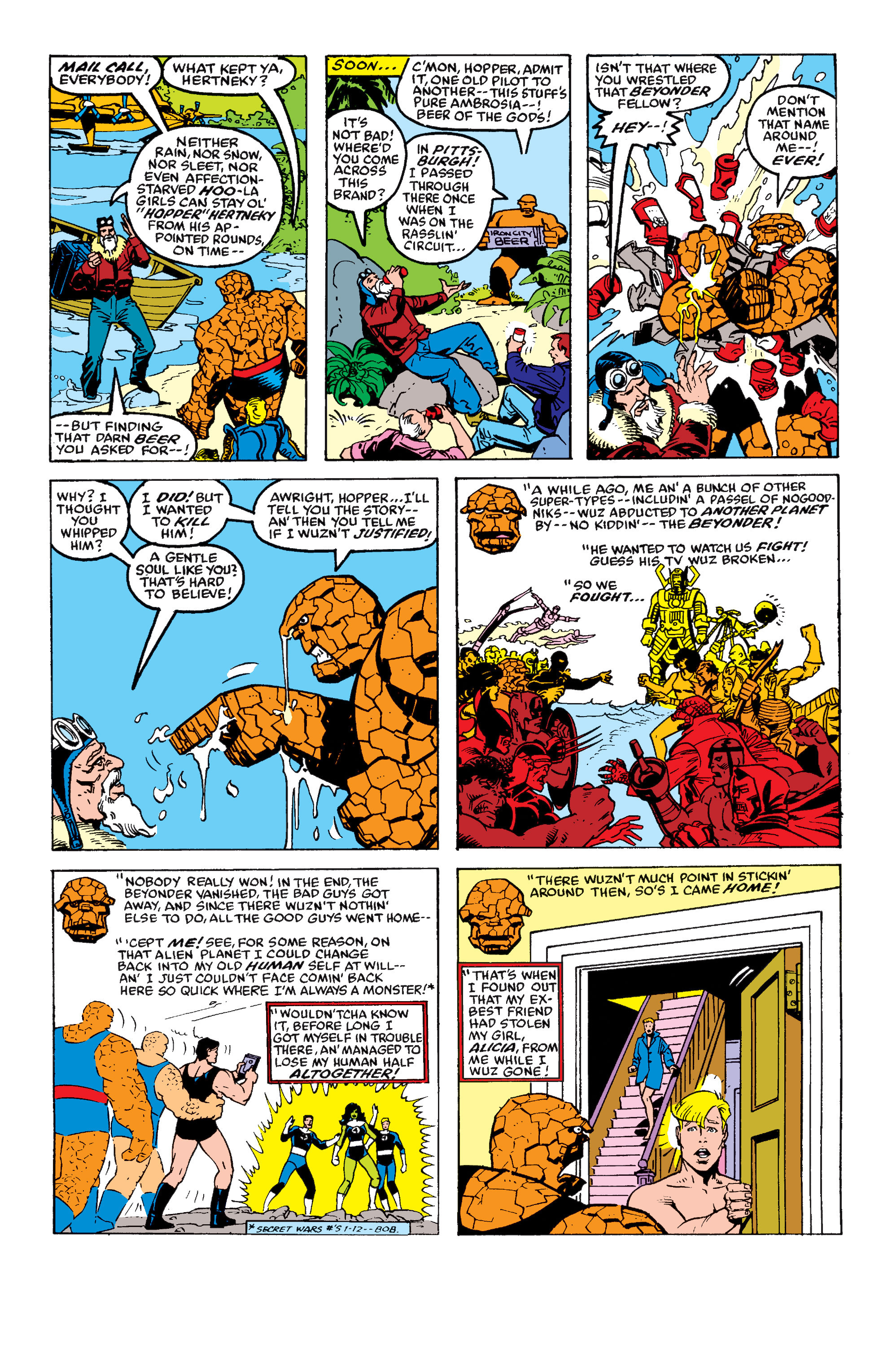 Read online Secret Wars II comic -  Issue #7 - 7