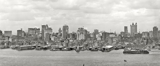 Manhattan Panorama c. 1906