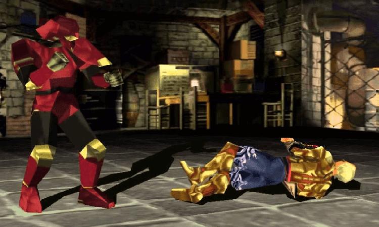 تحميل لعبة تيكن Tekken 3 بجميع الشخصيات