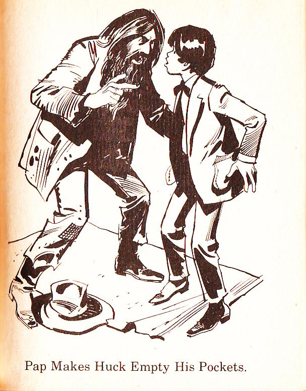 Mike Lynch Cartoons Huckleberry Finn Illustrations By
