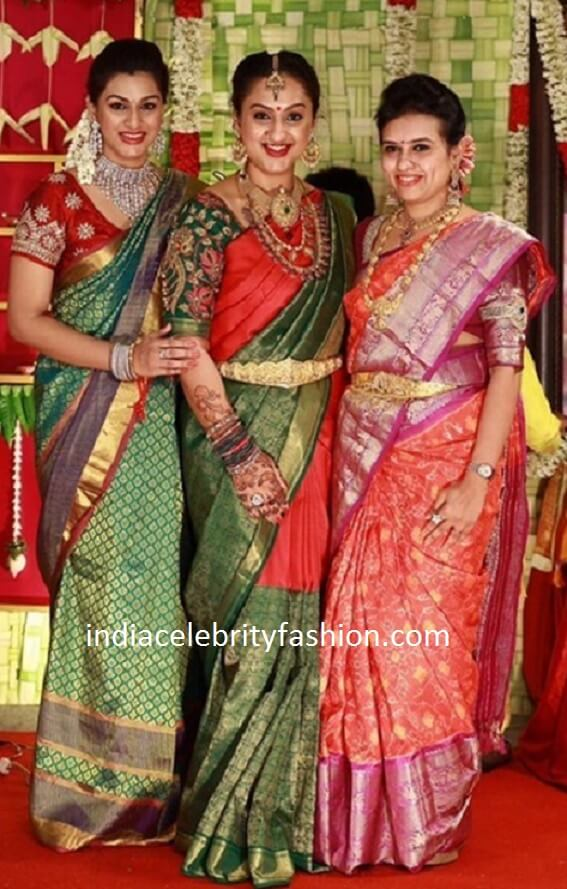 Sridevi Vijaykumar Baby Shower Photos