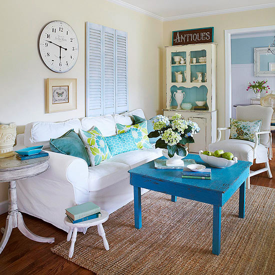 Beach House Decorating Ideas: Mix And Chic: Cottage Style Decorating Ideas