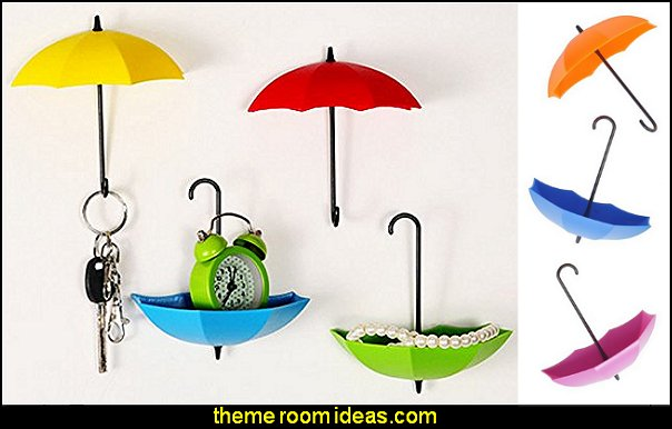 Colorful Umbrella Key Holder, Key Hanger,Wall Key Rack,Wall Key Holder,Key Organizer For Keys, Jewelry