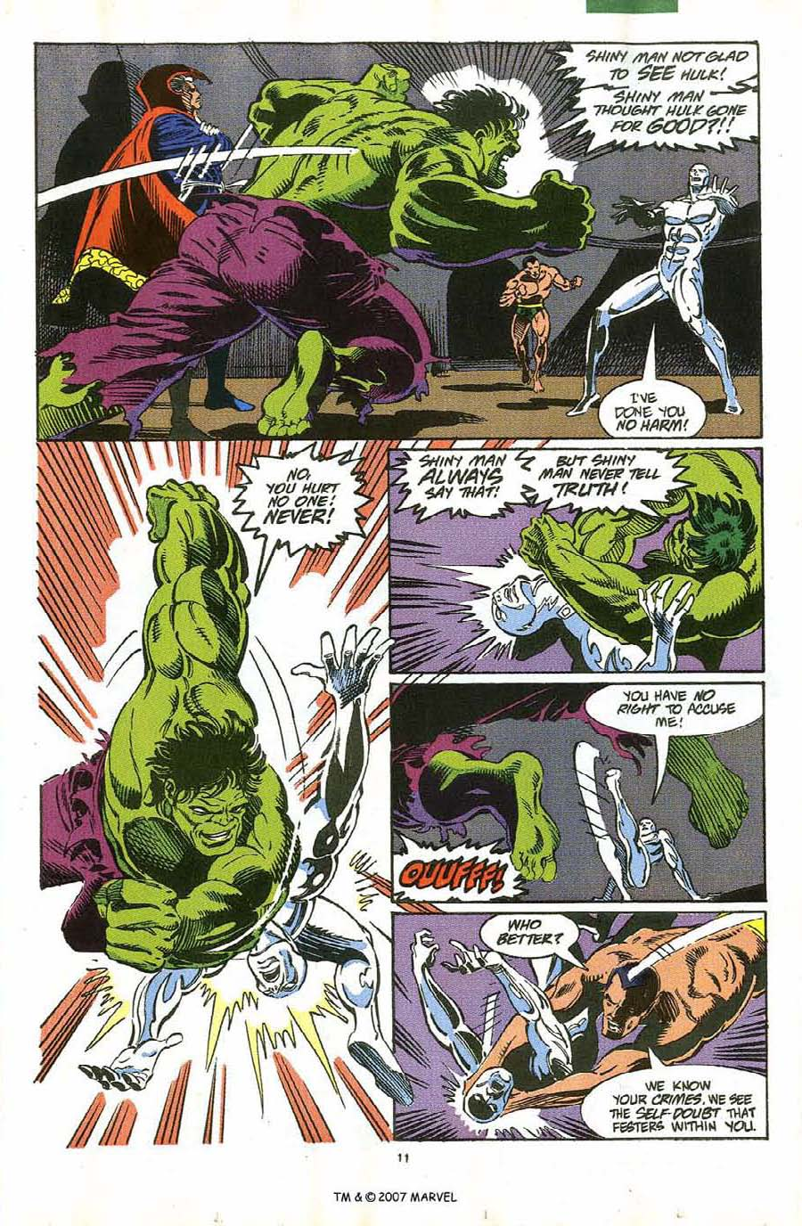 Read online Silver Surfer (1987) comic -  Issue #58 - 13