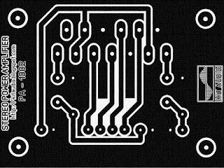 TDA8560 Power Amplifier 2X40 Watt PCB