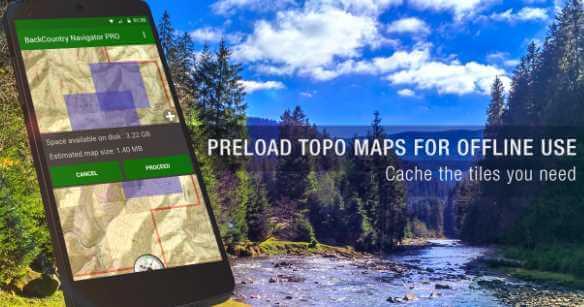 BackCountry Navigator TOPO GPS V APK Free Download - Us topo maps app wont download maps