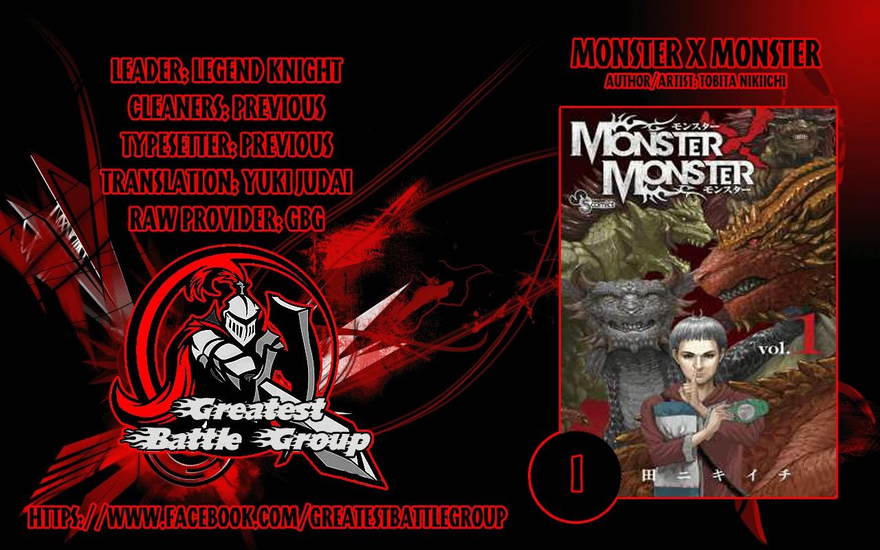 Monster X Monster chapter 1a trang 1