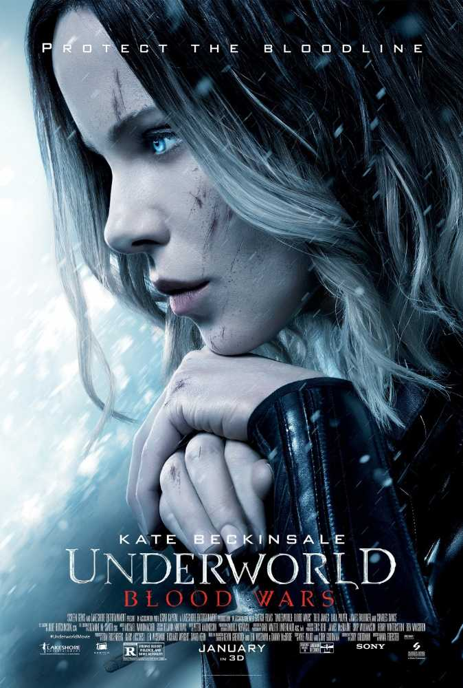 Underworld Blood Wars (2016) Movie Poster