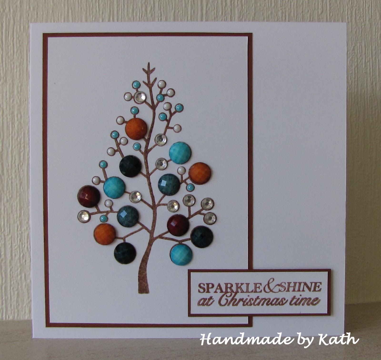 Handmade by Kath: Jewel Christmas Tree