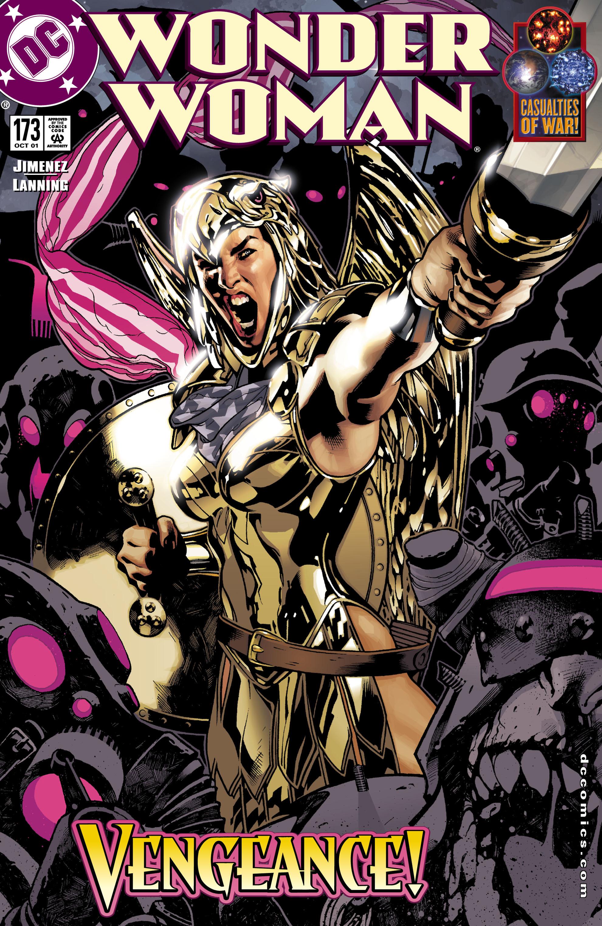 Read online Wonder Woman (1987) comic -  Issue #173 - 1
