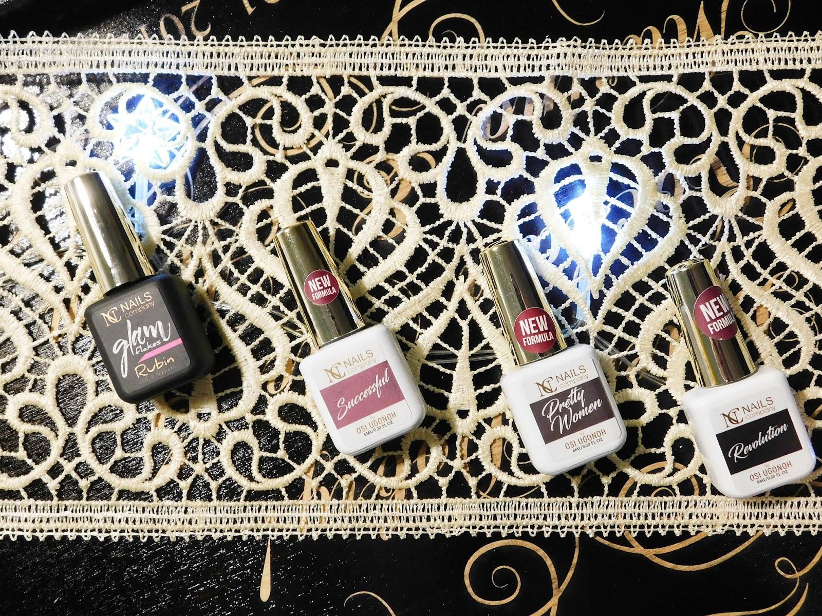 Pretty Women, Successful, Revolution, Glam Flakes Rubin - podkreśl swoją kobiecą stronę hybrydami od NC Nails Company