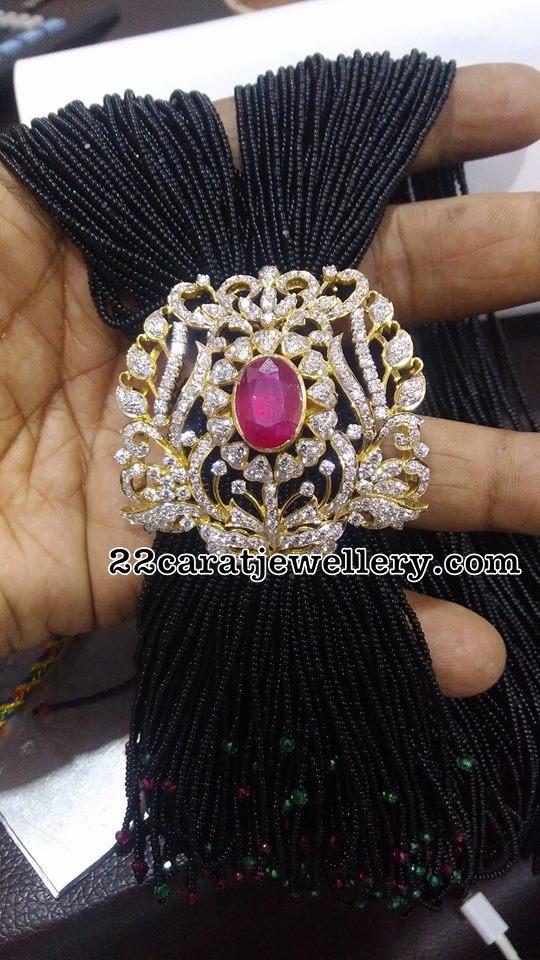 Multi Beads Set with Diamond Mopu