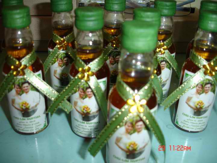 wedding giveaways sample philippines