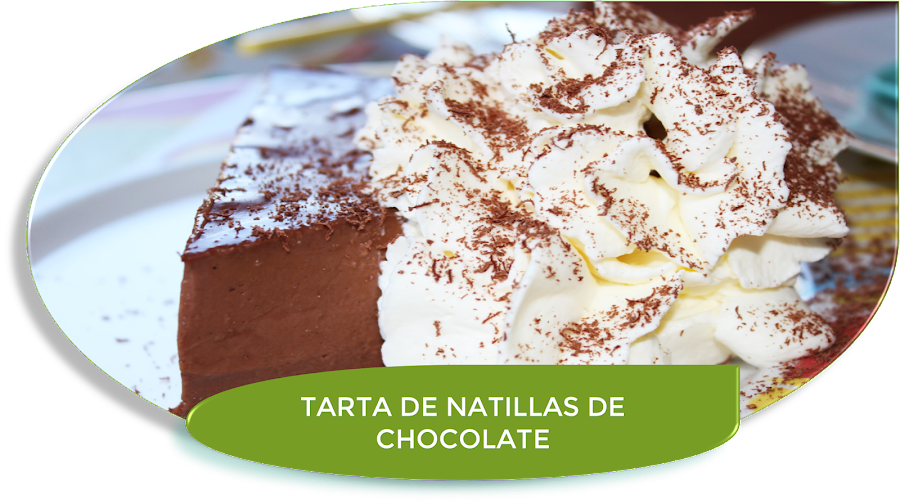 TARTA DE NATILLAS DE CHOCOLATE {SIN AZÚCAR}