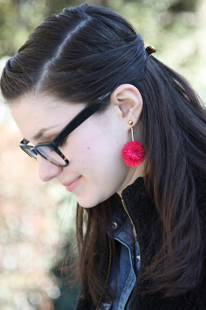 2017, summer, how to wear, statement earrings, J.Crew, OOTD,