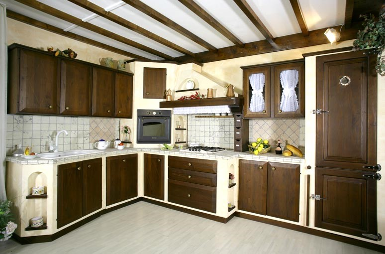 Cucina In Muratura D Angolo Tra Innovazione E Tradizione Edilizia