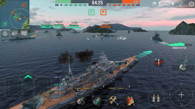 World of Warships Blitz Apk Mod Android Terbaru v0.6.0