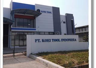 Lowongan Kerja Pabrik Jababeka Cikarang PT Koei Tool Indonesia