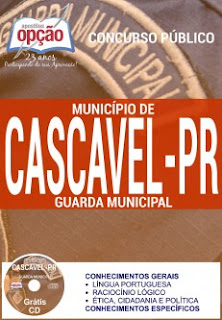 apostila prefeitura de cascavel pr 2016 guarda-municipal