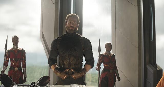 Kapitan Ameryka, Wakanda, straż króla